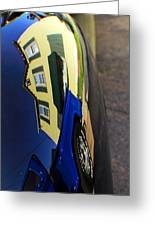 Car Reflection 6 Greeting Card