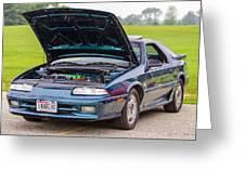 Car Show 022 Greeting Card