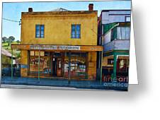 Carcoar General Store Greeting Card