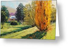 Carcor Autumn Greeting Card by Graham Gercken