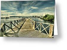 Cardiff Bay Wetlands Greeting Card
