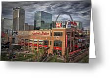 Cardinals Nation Ballpark Village Dsc06175 Greeting Card