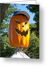 Carefree Scarecrow Greeting Card