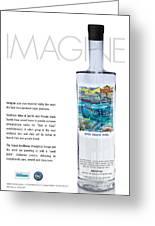 Carey Chen Big Chill Vodka By Jimmy Johnson Greeting Card