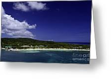 Caribbean Breeze Nine Greeting Card