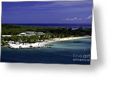 Caribbean Breeze Ten Greeting Card