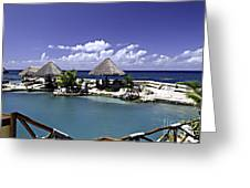 Caribbean Breeze Three Greeting Card