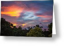 Caribbean Colors Greeting Card