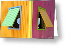 Caribbean Corner 3 Greeting Card