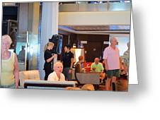 Caribbean Cruise - On Board Ship - 1212115 Greeting Card