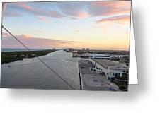Caribbean Cruise - On Board Ship - 121212 Greeting Card