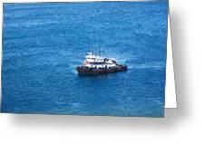 Caribbean Cruise - On Board Ship - 1212137 Greeting Card