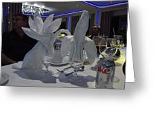 Caribbean Cruise - On Board Ship - 1212139 Greeting Card