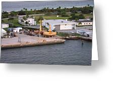Caribbean Cruise - On Board Ship - 121215 Greeting Card