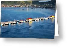 Caribbean Cruise - On Board Ship - 1212152 Greeting Card