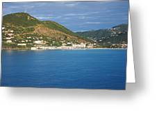 Caribbean Cruise - On Board Ship - 1212153 Greeting Card