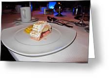 Caribbean Cruise - On Board Ship - 1212217 Greeting Card