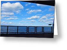 Caribbean Cruise - On Board Ship - 1212219 Greeting Card