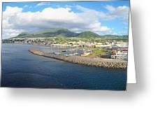 Caribbean Cruise - On Board Ship - 1212230 Greeting Card