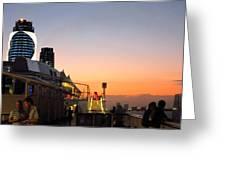 Caribbean Cruise - On Board Ship - 121230 Greeting Card