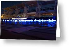 Caribbean Cruise - On Board Ship - 121232 Greeting Card