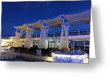 Caribbean Cruise - On Board Ship - 121237 Greeting Card