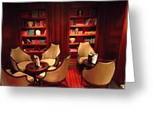 Caribbean Cruise - On Board Ship - 121244 Greeting Card