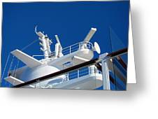 Caribbean Cruise - On Board Ship - 121263 Greeting Card