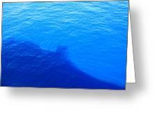 Caribbean Cruise - On Board Ship - 121289 Greeting Card