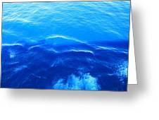Caribbean Cruise - On Board Ship - 121292 Greeting Card
