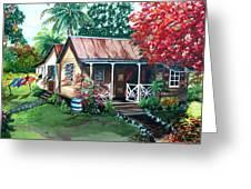 Caribbean Life Greeting Card
