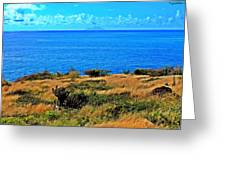 Caribbean Sea Greeting Card