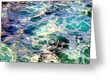 Caribbean Waters Greeting Card