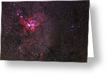 Carina Nebula Greeting Card