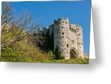 Carisbrooke Castle Greeting Card