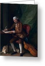 Carl Friedrich Abel, C.1777 Greeting Card