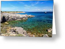 Carloforte Coastline Greeting Card