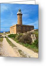 Carloforte Lighthouse Greeting Card