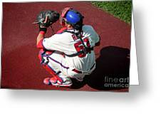 Carlos Ruiz Greeting Card