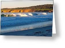Carmel Beach California Greeting Card