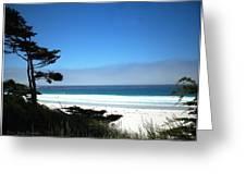 Carmel Beach California Usa Greeting Card