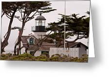 Carmel Light Station Greeting Card