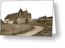 Carmel Mission Monterey Co. California Circa 1890 Greeting Card