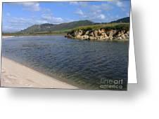 Carmel River Lagoon Greeting Card
