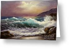 Carmel Sea Sunset Sold Greeting Card