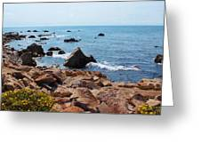 Carmel Seascape Greeting Card