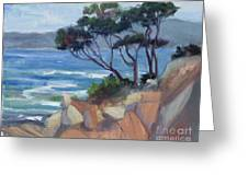 Carmel View From Point Lobos Greeting Card
