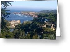 Carmel's Coastline Greeting Card