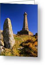 Carn Brea Memorial Greeting Card