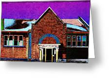 Carnegie Library North Platte Greeting Card